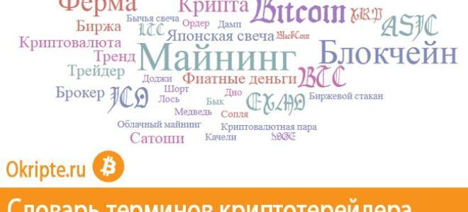 Словарь трейдера криптовалют