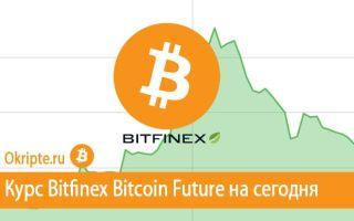 Курс Bitfinex Bitcoin Future к рублю, доллару, евро и биткоину
