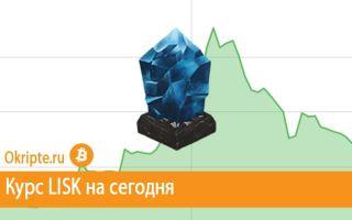 Курс Lisk к рублю, доллару, евро и биткоину