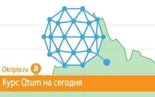 Курс Qtum к рублю, доллару, евро и биткоину